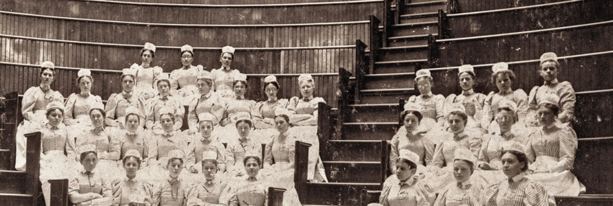 Nurses were as tough back then as they are now!